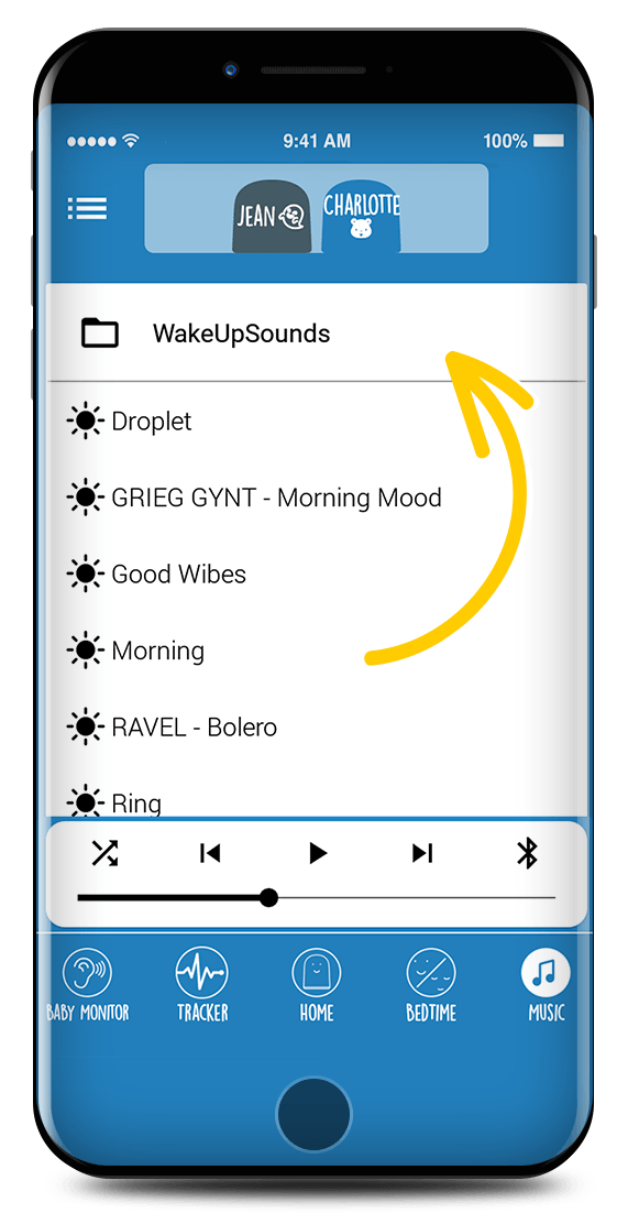 Application REMI - Musique