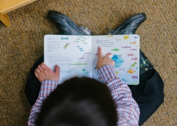 Invent an interactive story with your child